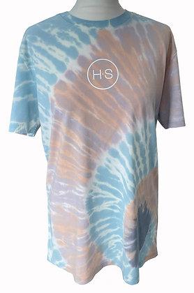 H.S Pastel Tie Dye Organic T-Shirt