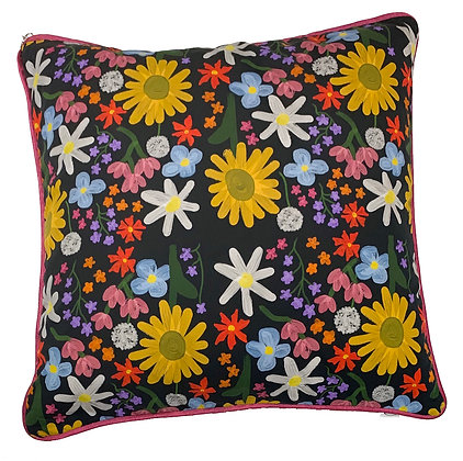 H.S x KMG 'Floral Fiasco' Large Cushion