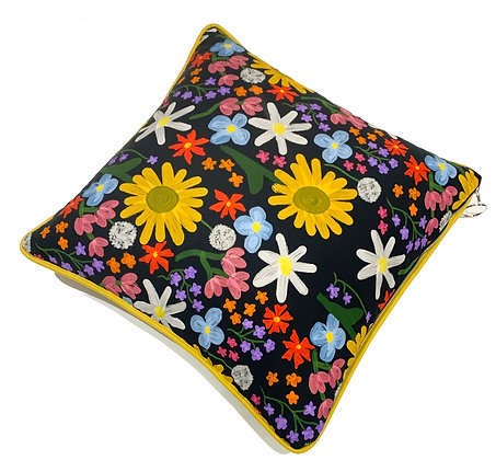 H.S x KMG 'Floral Fiasco' Cushion