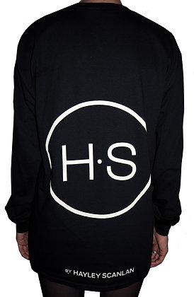 H.S Black Logo T-Shirt