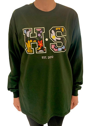 H.S x Kelsey Greig Green T-Shirt