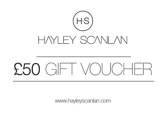 H.S Gift Voucher £50