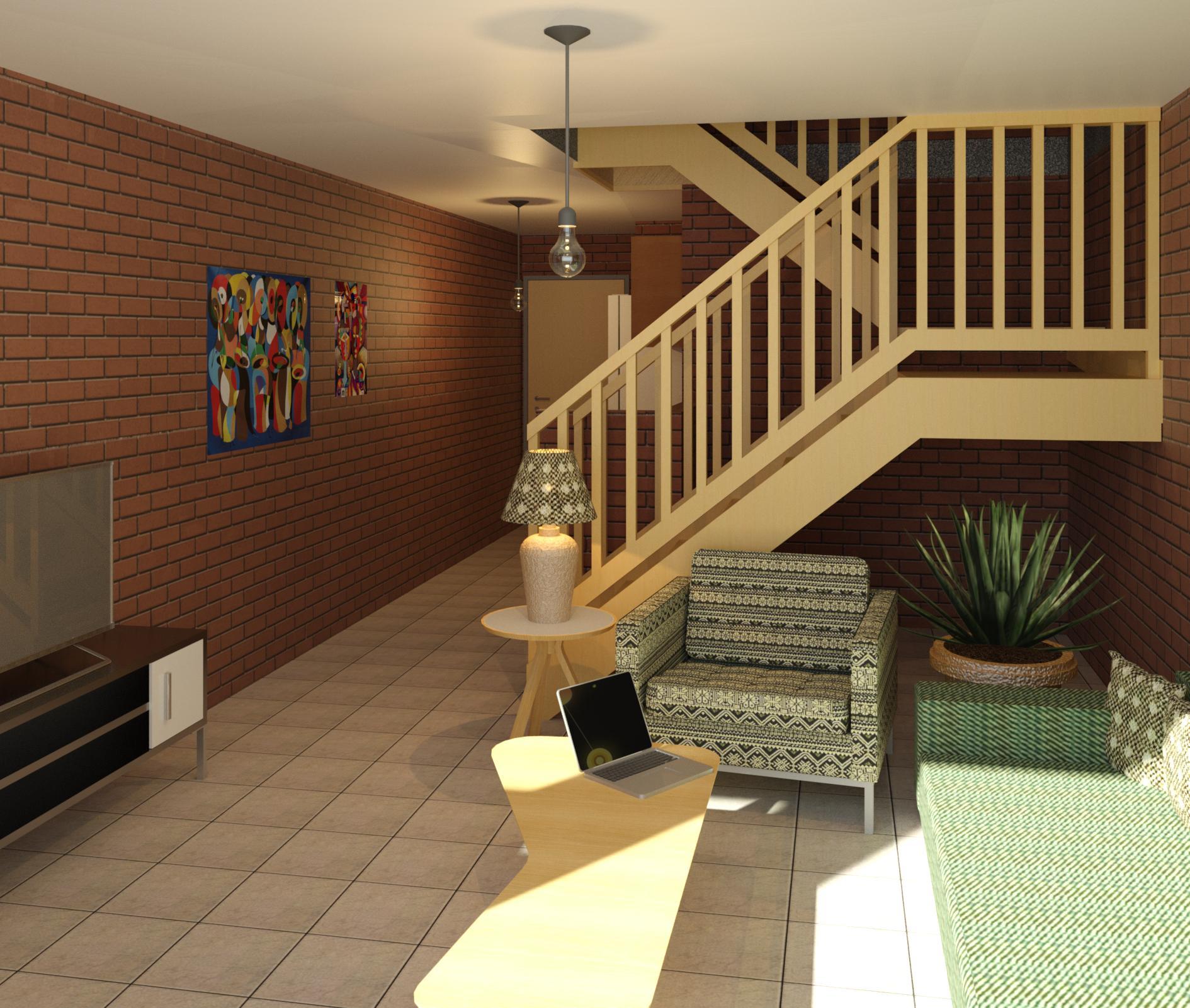 Fine Art Duplex - Perspective 2