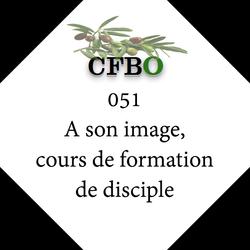 051 A son image, cours de formation de disciple