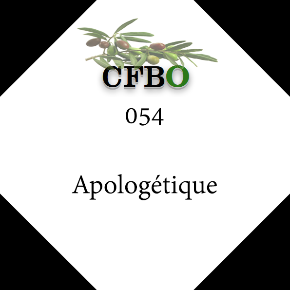 054_Apologétique