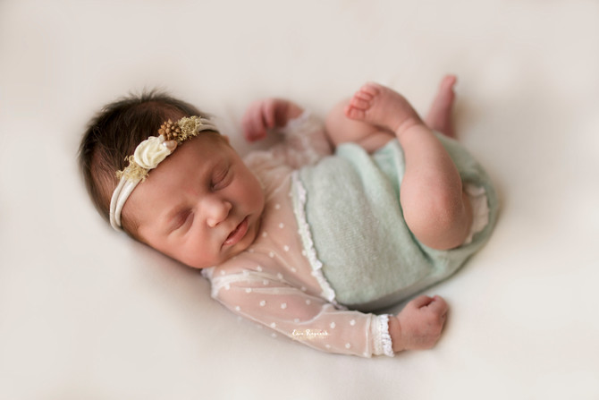 Baby Wren. Newborn Photography in Fleet.