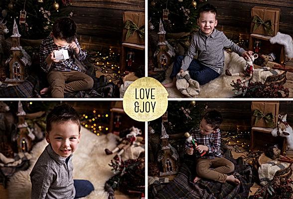 Happy Christmas mini session Berkshire