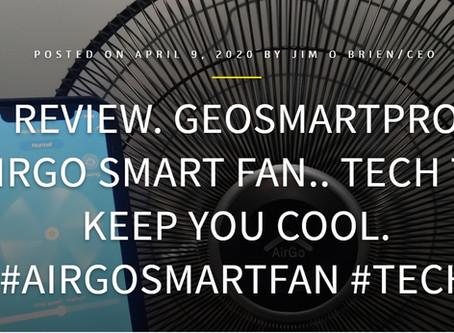 TECHBUZZIRELAND: AirGo Smart Fan review