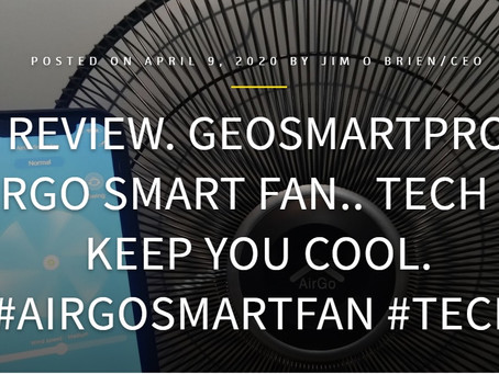 TECHBUZZIRELAND: AirGo Smart Fan review