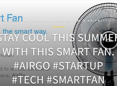 TECHBUZZIRELAND: AirGo Smart Fan