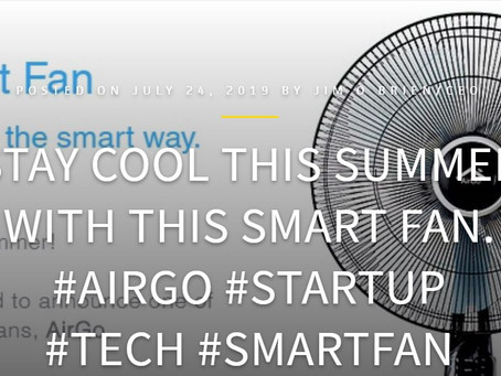 TECHBUZZIRELAND: AirGo Smart Fan