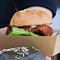 Land Lubber, Crumbed Chicken Burger