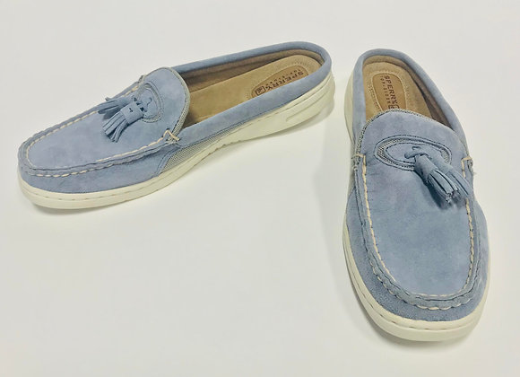 Sperry Top-Sider Bluefish Suede Leather Mules