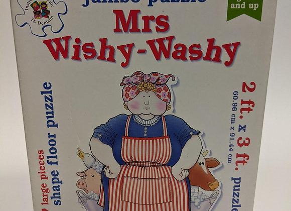 Mrs Wishy-Washy Jumbo Puzzle
