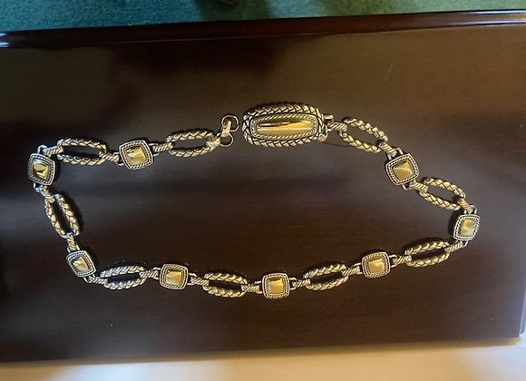 Brighton Gold and Silver-toned Belt