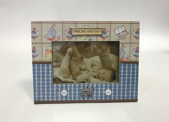 Darling Baby Boy Picture Frame