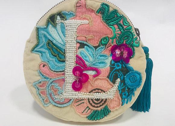 Anthropologie Beaded Handbag