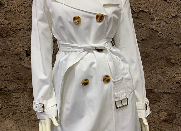 Michael Kors White Trench Coat