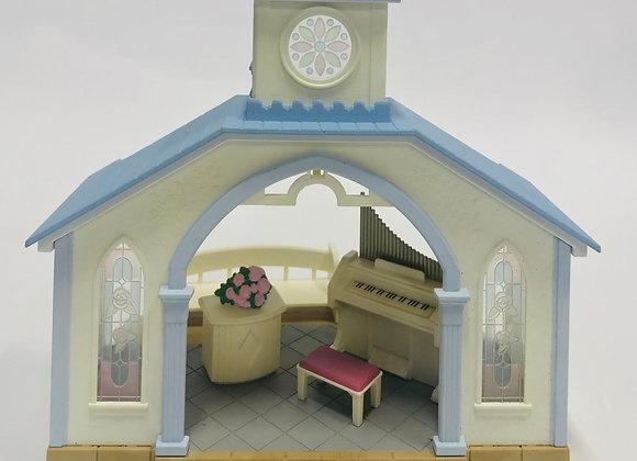 Calico Critters Fan Club Wedding Chapel