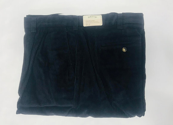 Orvis Corduroy Pleated Pants (Size 46)