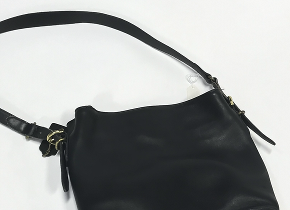 Coach Soft Leather Dark Gray Handbag