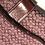 Thumbnail: Coach Burgundy Logo Fabric Handbag