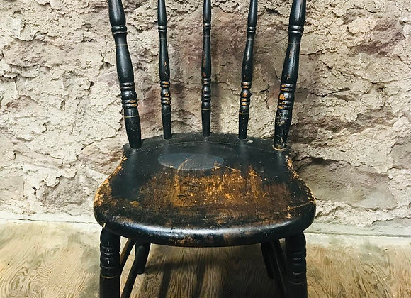 Vintage Wooden Side Chair