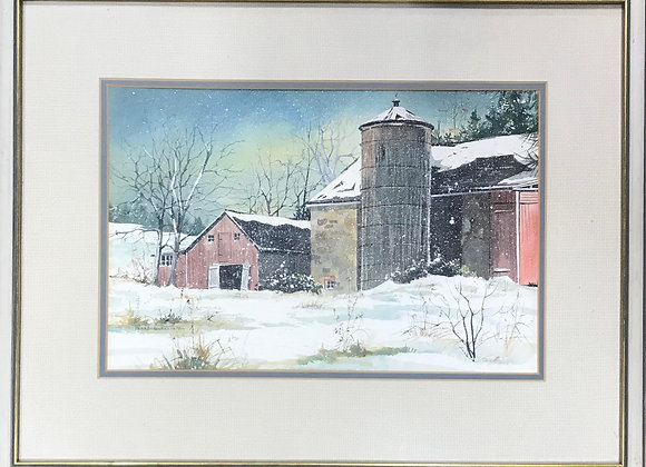 Original Watercolor by Pearl Slobodian