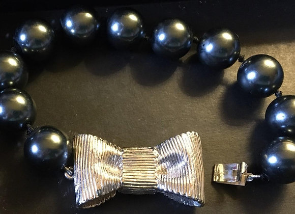 Kate Spade (stamped) All Wrapped Up In Pearls Bracelet