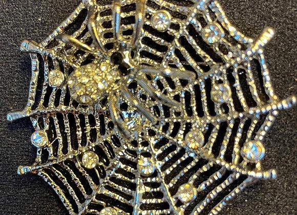 Spider Web Pin