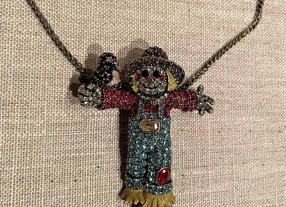 Scarecrow Pin/Necklace