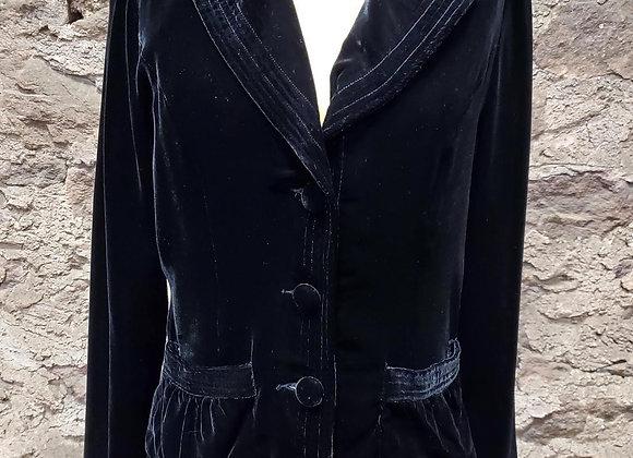 Ambition Soft Velvet Jacket
