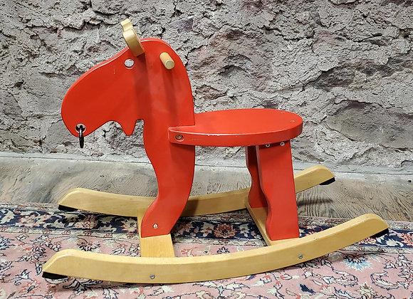 IKEA Ekorre Red Rocking Moose