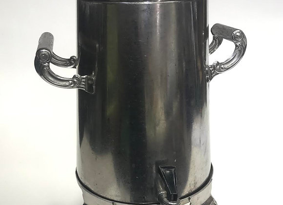 Tall Silver Coffee Urn