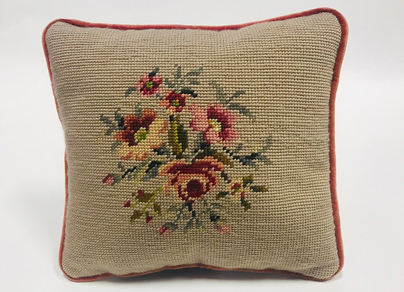 Small Needlepoint Pillow