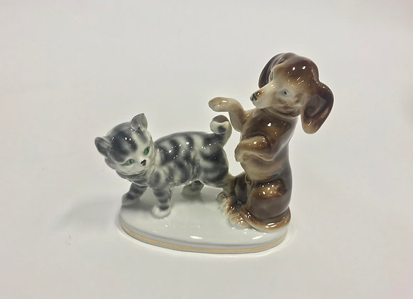 Ebling & Reuss Porcelain Dog & Cat