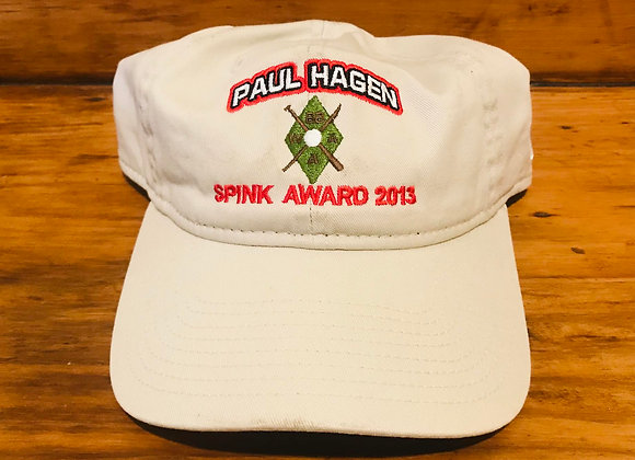 Paul Hagen Spink Award Ballcap Cooperstown