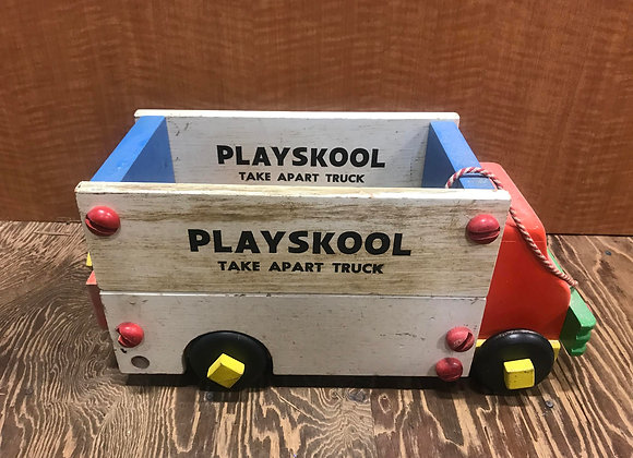 Vintage Playskool Take Apart Truck