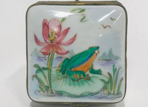Vintage Limoges Porcelain Trinket Box