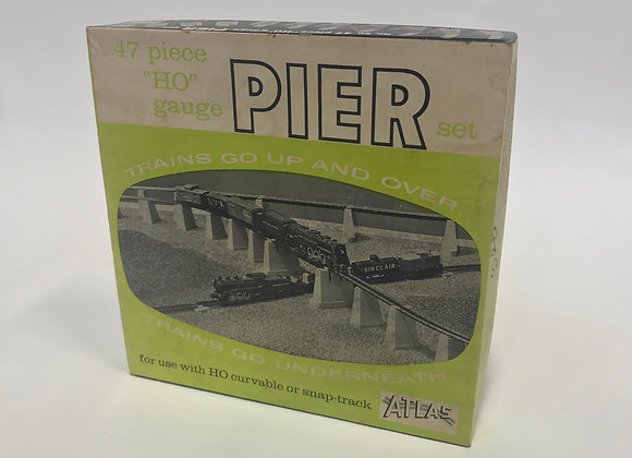 HO Gauge Pier Set 47 Pieces