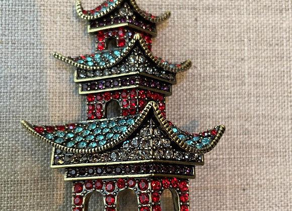 Pagoda Pin