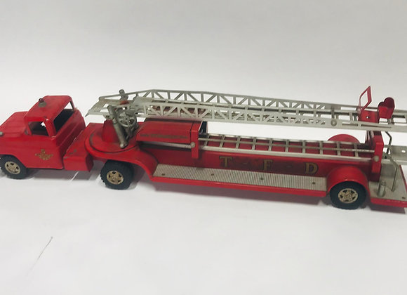 Vintage 1958 Tonka TFD Hydraulic No.5 Fire Engine Fire Truck