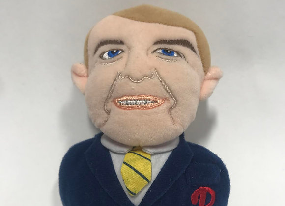 Harry Kalas Tribute Doll