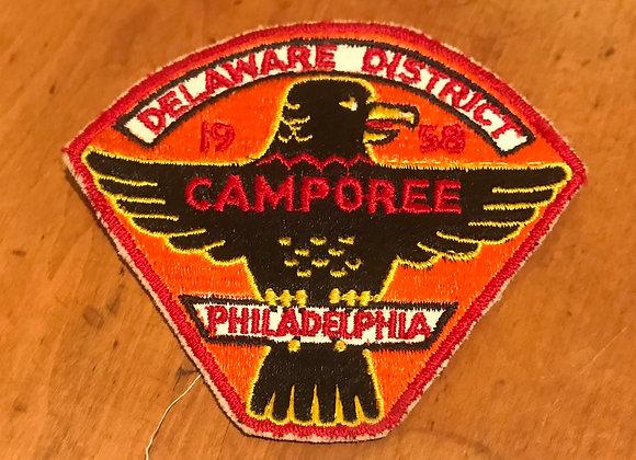 Vintage Boy Scout Patch Camporee Philadelphia