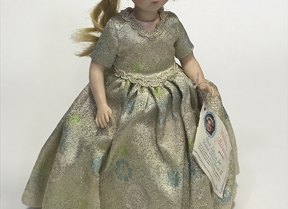 "Madame Alexander First Ladies Series III 14"" Martha Johnson"