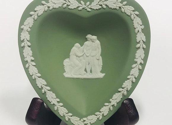Wedgwood Jasperware Heart-shaped Dish