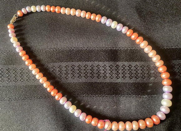 Honora Multi-color Pearl Choker Necklace
