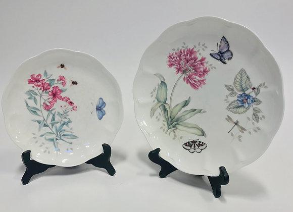 9 Lenox Butterfly Plates
