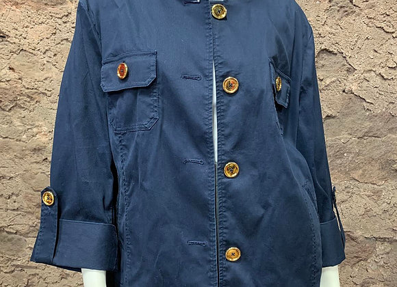 Jones New York Jacket with Gold Buttons