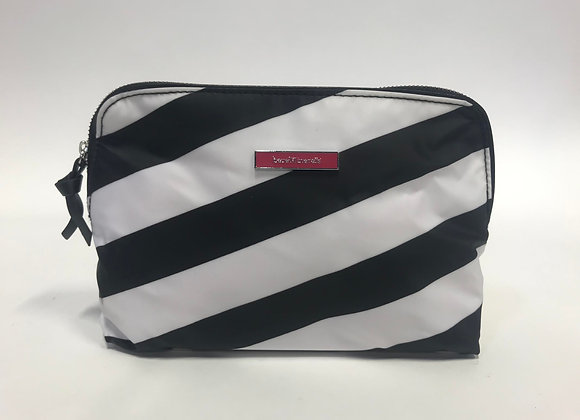 Striped Cosmetic Bag by BareMinerals